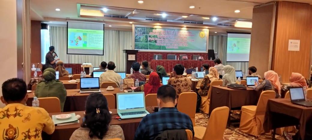 Rapat Koordinasi dan Pelatihan Analisis Penyusunan FSVA Tingkat Provinsi Sulawesi Selatan Tahun 2021