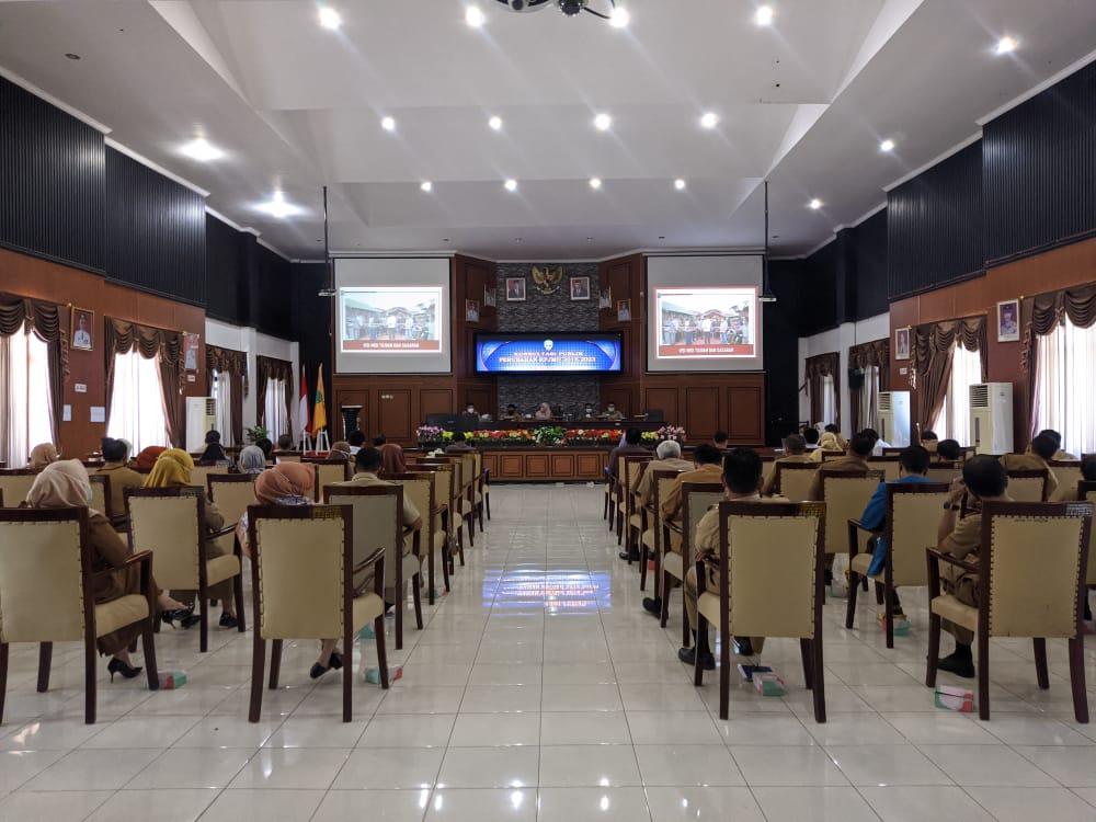 Bappeda Sinjai Selenggarakan Forum Konsultasi Publik Perubahan RPJMD 2018-2023